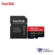 SanDisk Extreme PRO Micro SD Memory Card 400GB 170MB/s A2 Class 10 with Adapter