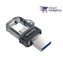 SANDISK Ultra Dual USB M3.0 Micro Flash Drive OTG 16GB