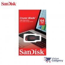 Sandisk Cruzer Blade USB Pendrive Thumb Drive 64GB