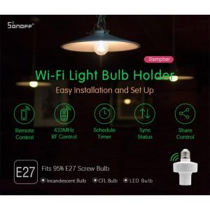 Sonoff Slampher R2 RF Smart Home Wifi Wireless Switch E27 Bulb Socket 433MHz