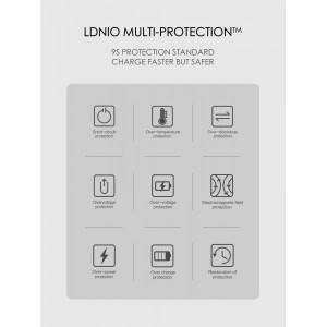 LDNIO A4403C PD QC3.0 Charger Output Type C Fast Charging 30W