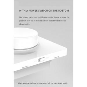 Xiaomi Yeelight Bluetooth Dimmer Switch Light Smart Home 86 Box Version YLKG07YL