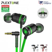 Plextone G20 Gaming Earphone Headset In-ear Earbud Magnetic w Mic