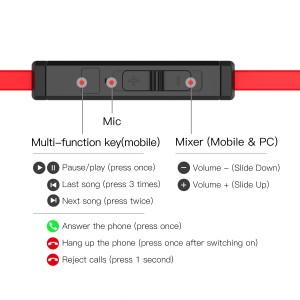 Plextone G20 Gaming Earphone Headset In-ear Earbud Magnetic w Mic