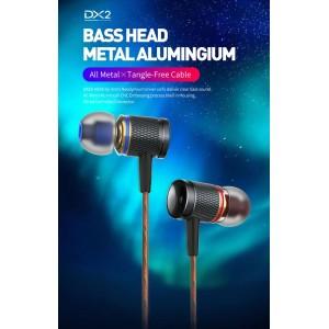 Plextone DX2 Gaming Earphone Headset In-ear Earbud Metal Piston Head w Mic