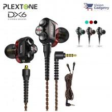 Plextone DX6 Gaming Earphone Headset In-ear Earbud 3 Hybrid Drivers Detachable (3.5mm)