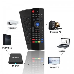 MX3 Airmouse Air Mouse Wireless Keyboard Remote Android TV Box