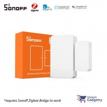 Sonoff Zigbee Wireless Window Door Sensor Smart Home Wifi Wireless App Control SNZB-04