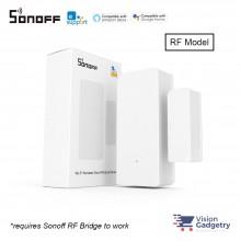 Sonoff DW2 Door Window Sensor Smart Home Wifi Wireless Switch App Control RF 433Mhz