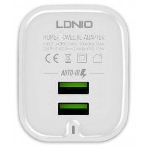 LDNIO A201 USB Charger Dual USB 2.4A