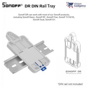Sonoff DR DIN Rail Tray Mount Basic R2 R3 RF POW R2 TH10 TH16 Dual G1