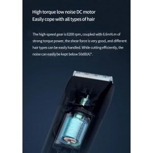 Xiaomi Mijia Mi Electric Hair Trimmer Clipper Wireless 0.5-1.7mm Ceramic Knife IPX7 LFQ02KL