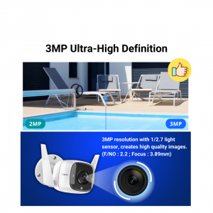 TP-Link Tapo C310 Wifi Camera Home Security 3MP Full HD IP Camera CCTV Outdoor Waterproof