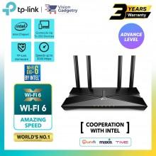 TP-Link Archer AX50 AX55 AX3000 Dual Band WiFi 6 Gig+ Intel Gigabit Wireless Router UniFi/Maxis/Time/Celcom