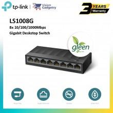TP-Link LS1008G LS1005G 8-Port 5-Port 10/100/1000Mbps Gigabit Switch Desktop Laptop Ethernet LAN