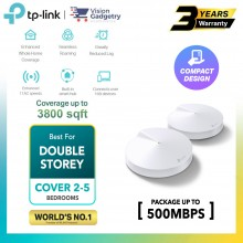 TP-Link Deco M5 AC1300 Mesh Router Dual Band Whole Home System Wireless Range Extender (1pc/2pcs/3pcs)
