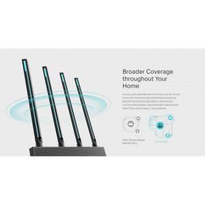 TP-Link Archer C80 AC1900 Dual Band MU-MIMO Wireless Wifi Router OneMesh UniFi/Maxis/Time/Celcom