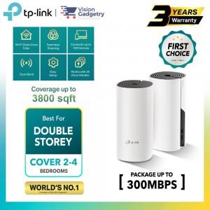 TP-Link Deco M4 HC4 AC1200 Mesh Wifi Router Whole Home System Wireless Range Extender (2pcs/3pcs)