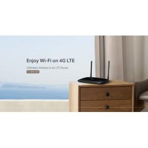 TP-Link TL-MR6400 Sim Card Router 300Mbps Wireless N 4G LTE APAC Ver Maxis/Digi/Celcom/Umobile