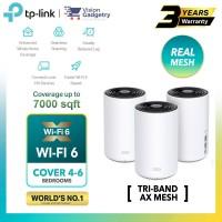 TP-Link Deco X68 AX3600 Mesh Wifi 6 Router Whole Home System Wireless Range Extender (2pcs/3pcs)