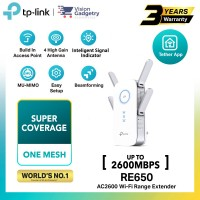 TP-Link RE650 AC2600 Dual Band Range Extender Repeater Access Point