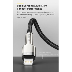 Baseus Cafule Series Metal Data Cable Type C to Lightning iPhone PD Cable 20W 0.25m