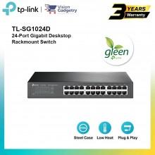 TP-Link TL-SG1024D TL-SG1016D 16/24 Port Gigabit Desktop Rackmount Switch