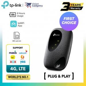 TP-Link M7200 Sim Card Mobile Mifi WiFi Router 4G LTE App Support Maxis/Digi/Celcom/Umobile