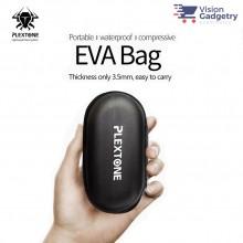 PLEXTONE Nylon EVA Pouch Bag Waterproof Shockproof Dustproof Earphone Earbud Casing Gaming