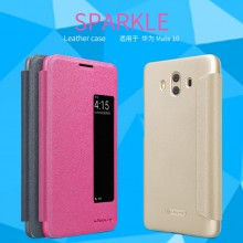 Huawei Mate 10 Nillkin Sparkle Leather Flip Case Cover
