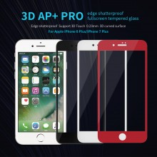iPhone 7 Plus 8 Plus NILLKIN 3D AP+ Pro Fullscreen Tempered Glass Screen Protector