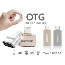 REMAX OTG Type C Micro USB Flash Driver for Smartphones & Tablets