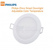 Xiaomi Philips Zhirui Smart Ceiling LED Downlight Light Adjustable Color Temp 200lm