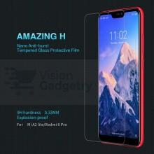 Xiaomi A2 Lite Redmi 6 Pro Nillkin H Tempered Glass Screen Protector